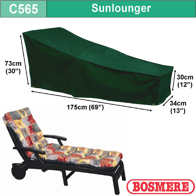 Bosmere Sunlounger Cover (175wx76D)