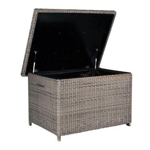 4 Seasons Wales cushionbox w/ 2 wheels - Pure