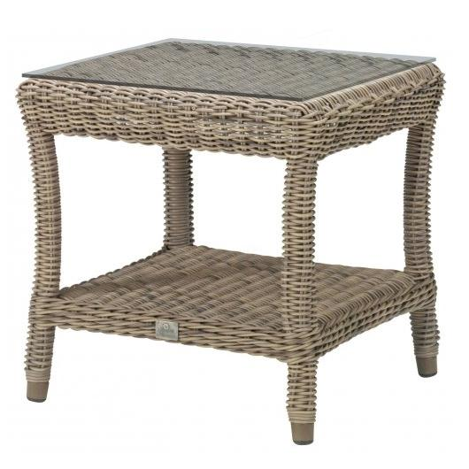 4 Seasons Buckingham Side Table 60x60 - Pure