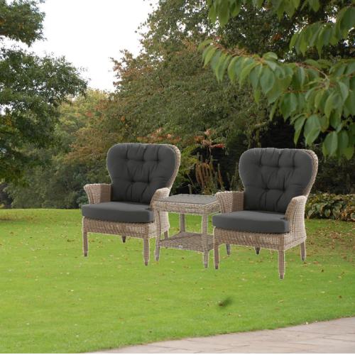 4 Seasons Buckingham Side Table 60x60 - Pure