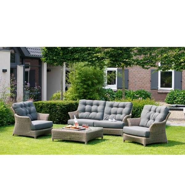 4 Seasons Valentine Sofa 2.5 Lug. C/ 4 Alm. - Pure