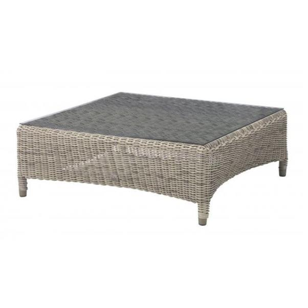 4 Seasons Valentine Square Coffee Table 100x100 - Pure