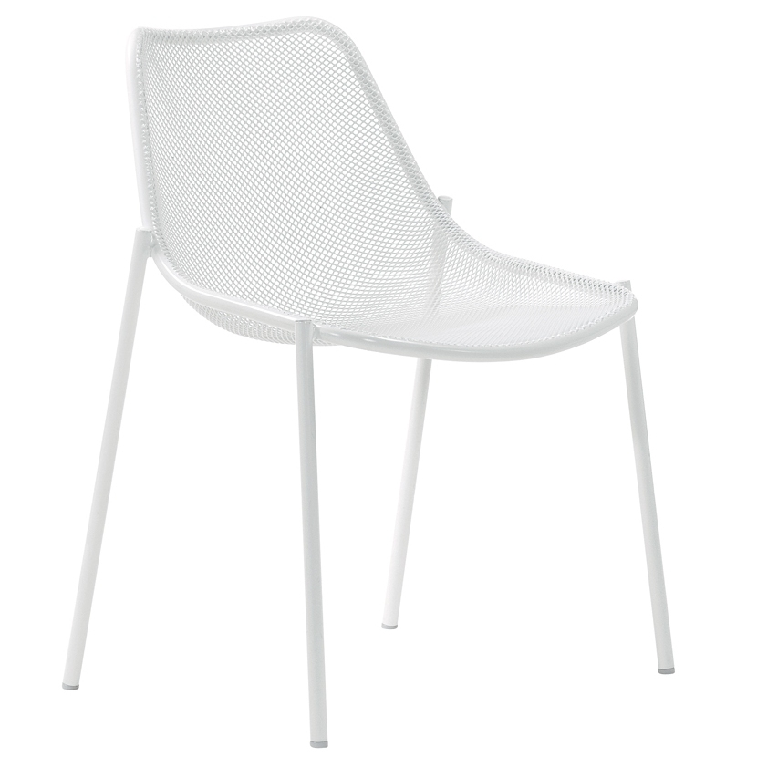 Emu Round Chair - White