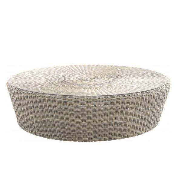 4 Seasons Valentine Round Coffee TAble 110cm - Pure