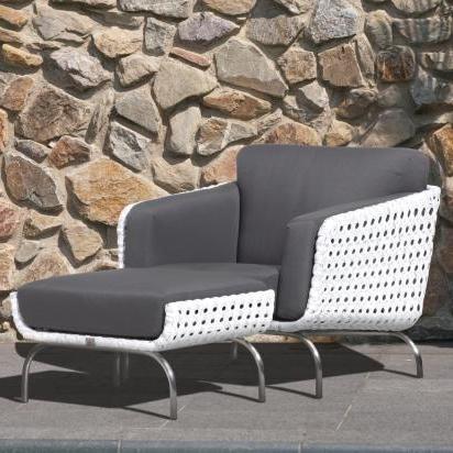 4 Seasons Luton Living Chair w/4 cushions - Pearl