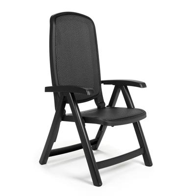 Jofix Delta Cadeira Relaxer Antracite - Trama Antracite