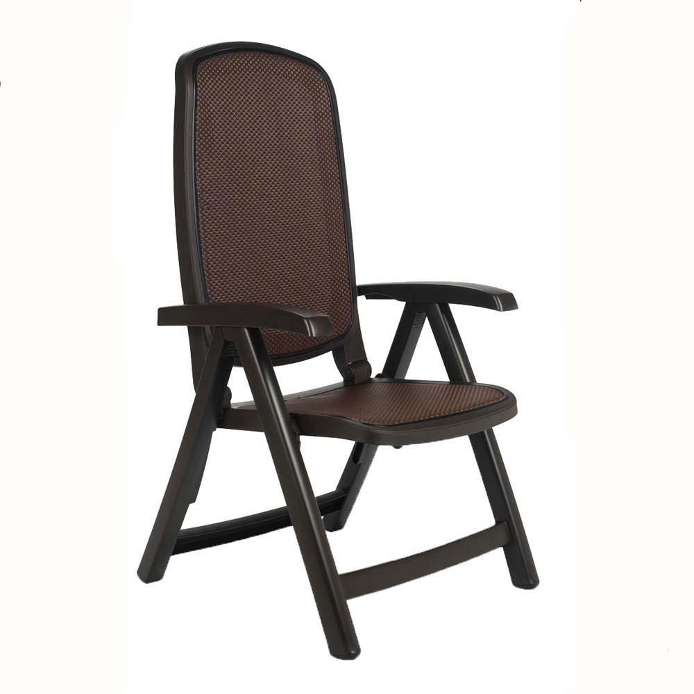 Jofix Delta Cadeira Relaxer Café - Trama Café