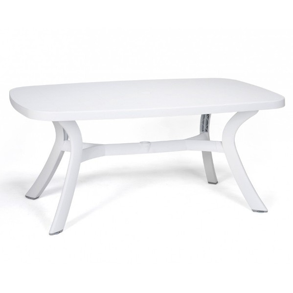 Jofix Toscana 145 Oval Table White